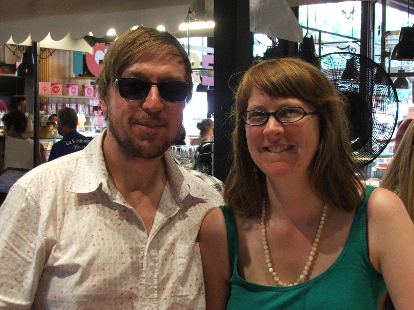 Kiran & Pete from Stockport, United Kingdom