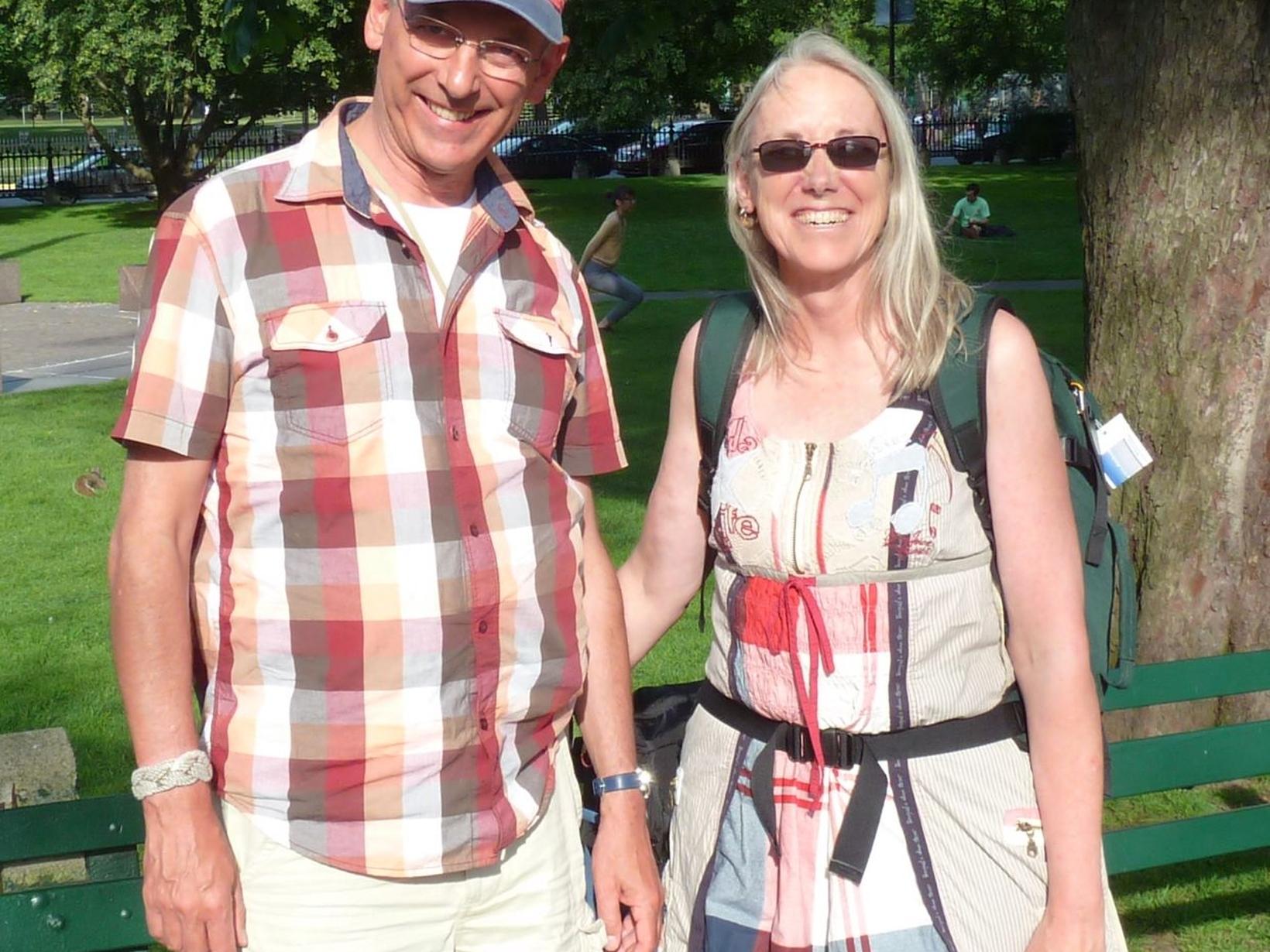 Bernhard & Karen from Bennekom, Netherlands