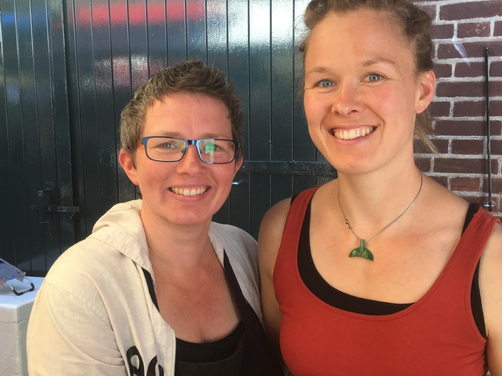 Danielle & Corien from Groningen, Netherlands