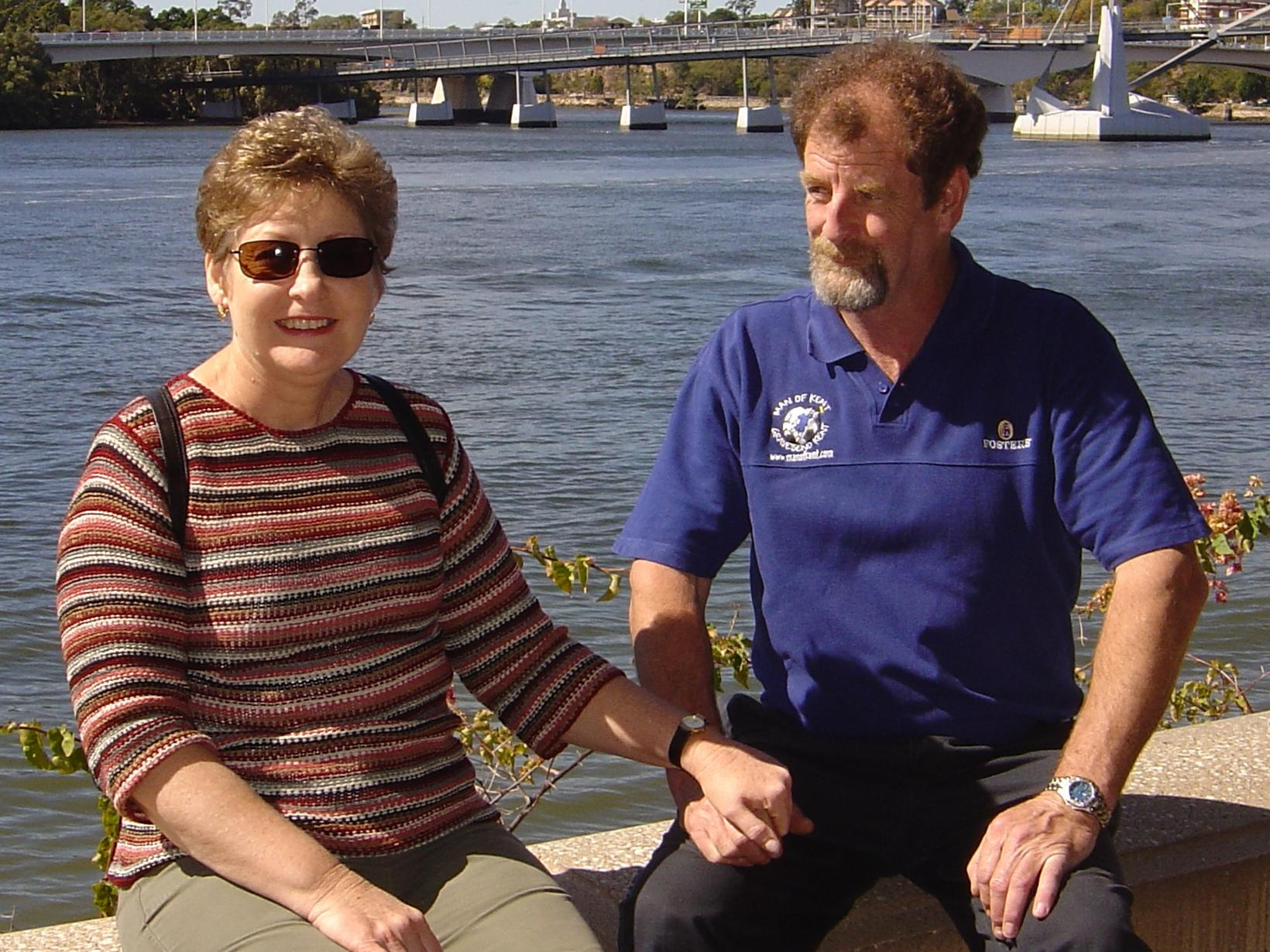 Tricia & James from Launceston, Tasmania, Australia