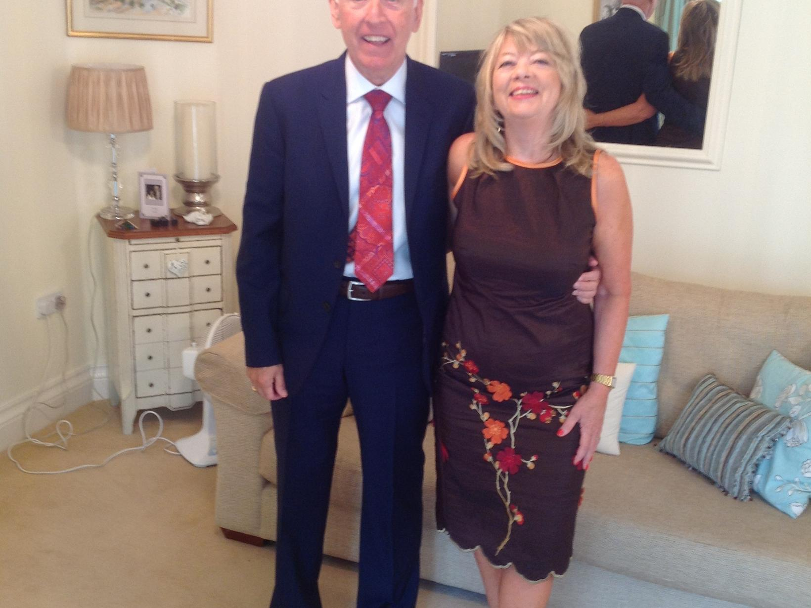 Eric & Margaret from Sheffield, United Kingdom