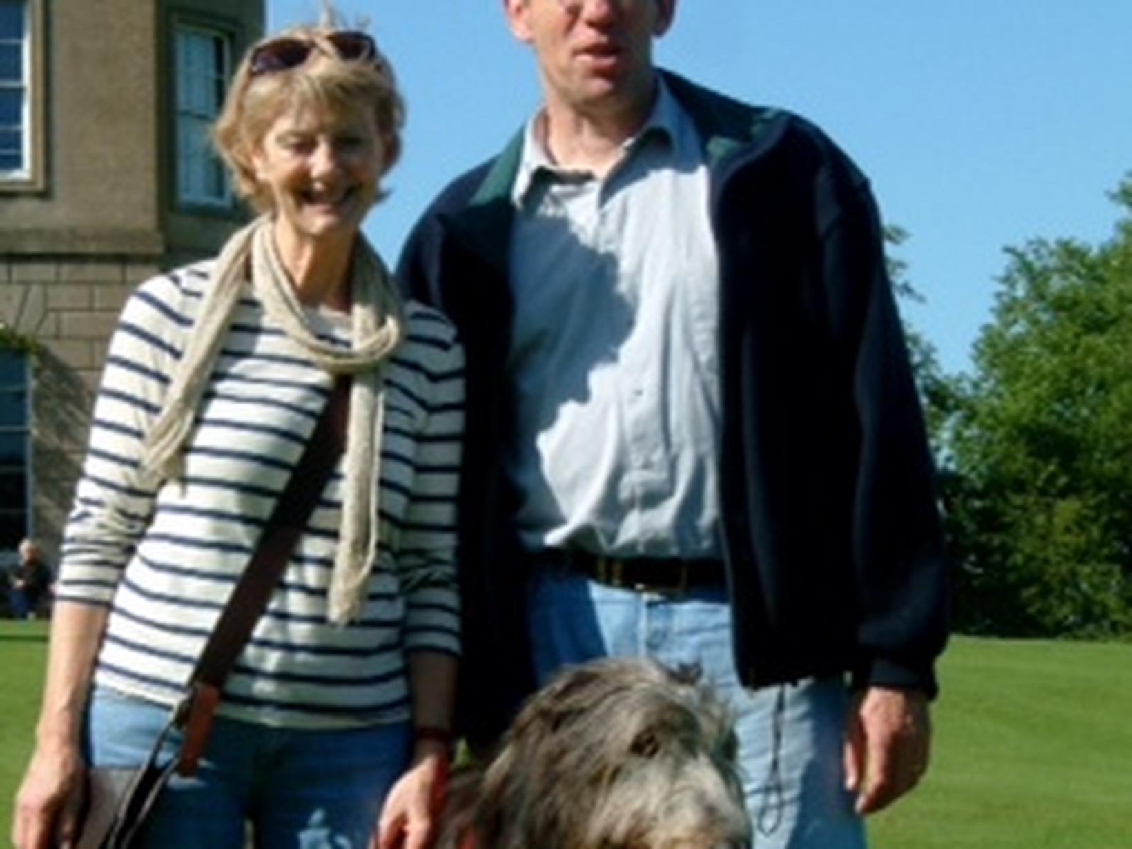 Stephen & Hilary from Bargemon, France