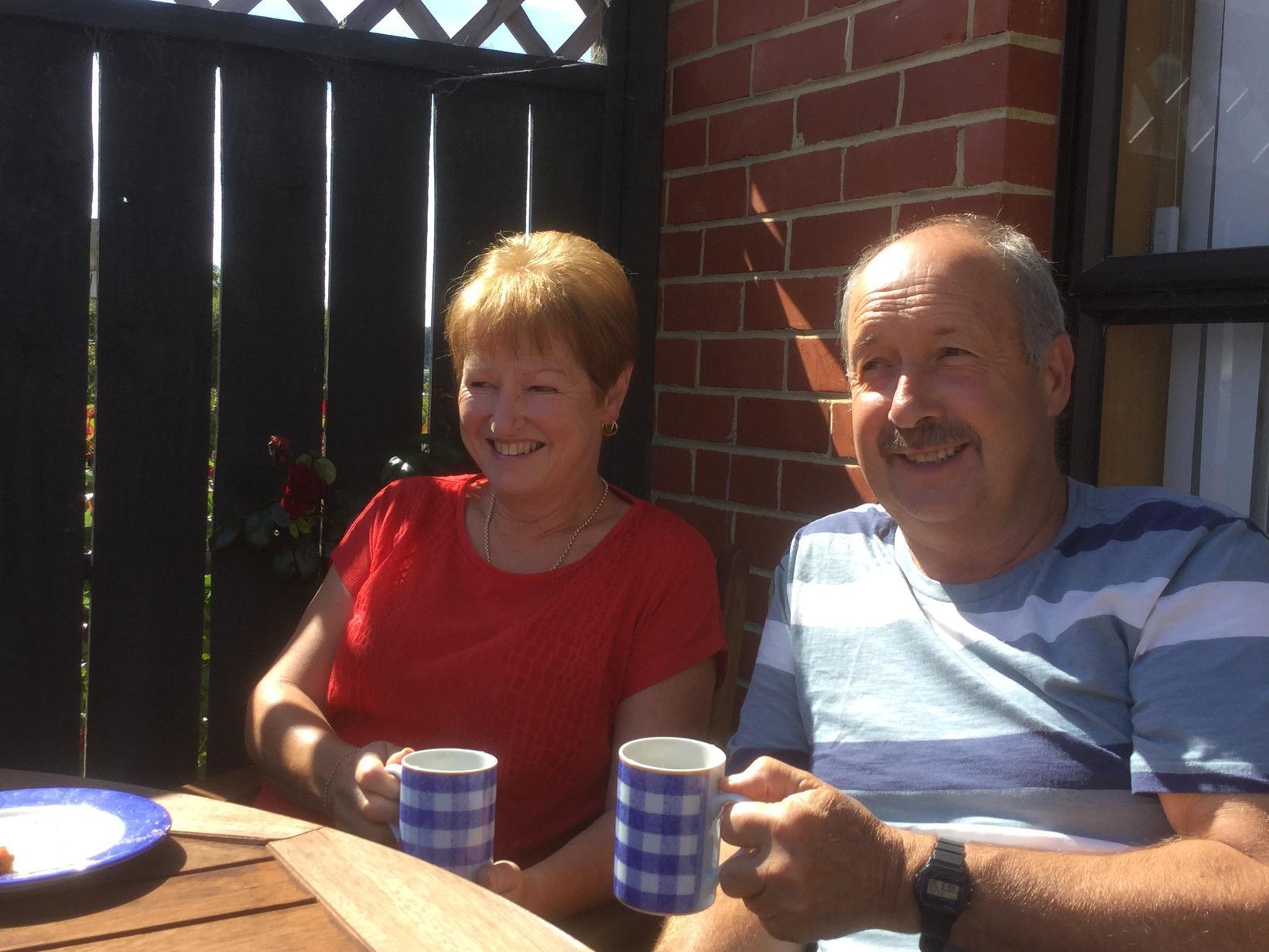 Pam & Brian from Omarama, New Zealand