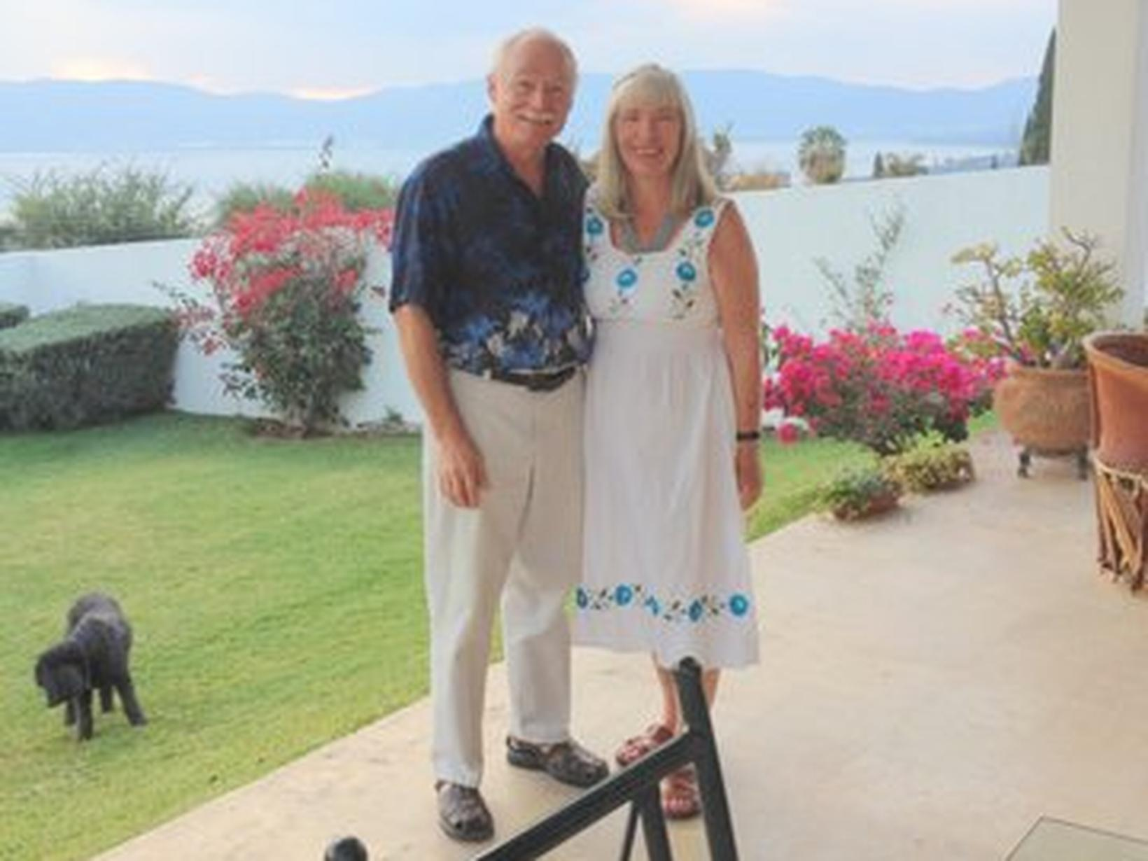 Linda & Ken pasanen from Kaslo, British Columbia, Canada