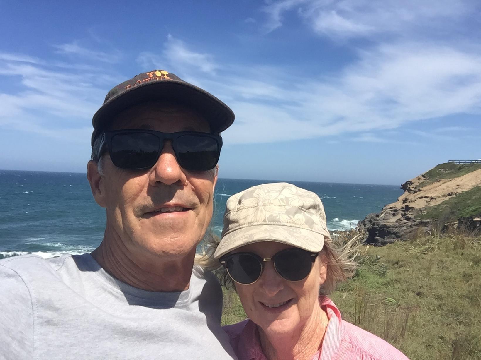 Kay & Graham from Yamba, New South Wales, Australia