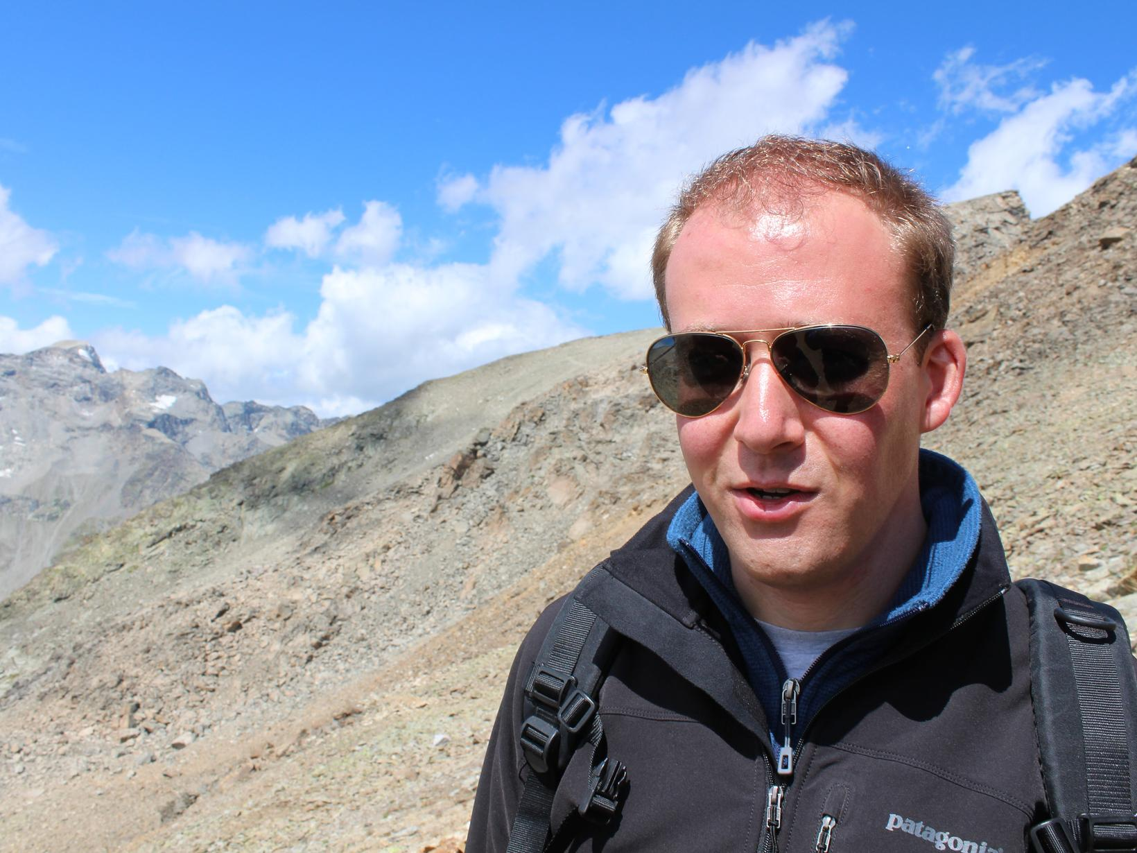 Geert from Sankt Moritz-Bad, Switzerland