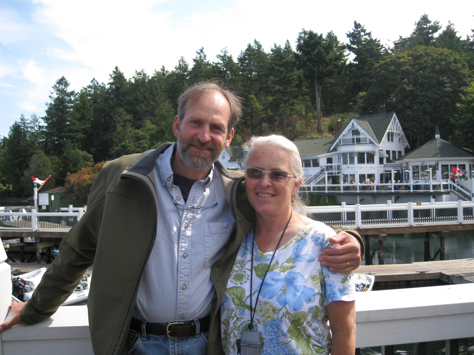 Barbara & fred & Fred from Friday Harbor, Washington, United States