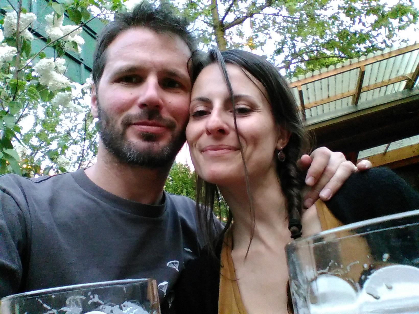 Alexandra & Ollivier from Aix-les-Bains, France