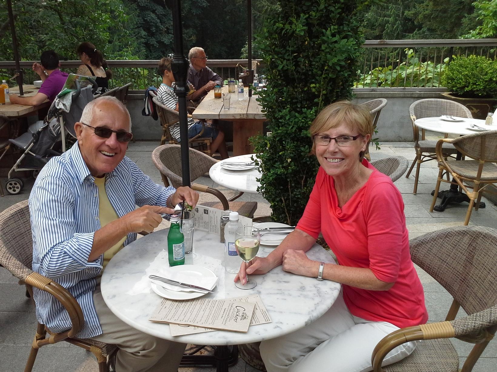 Wendy & Robert from Victoria, British Columbia, Canada