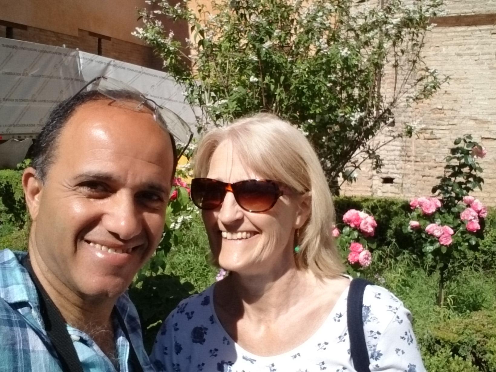 Jane & Mahmoud from Cardiff, United Kingdom