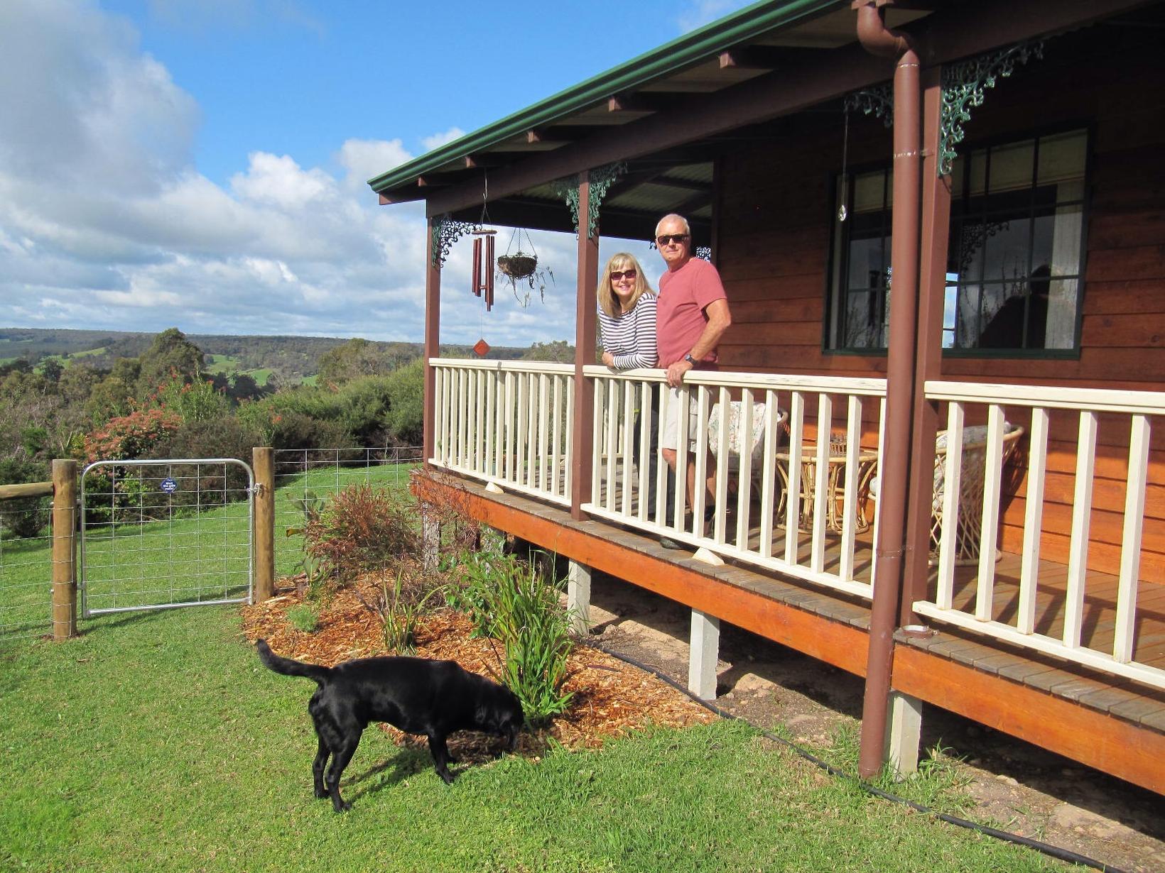Jean & David from Bridgetown, Western Australia, Australia