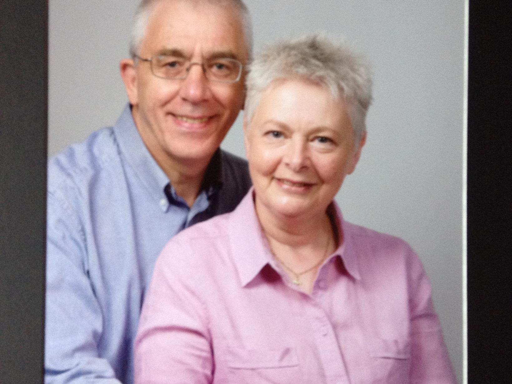 Rona & Reg from Preston, United Kingdom