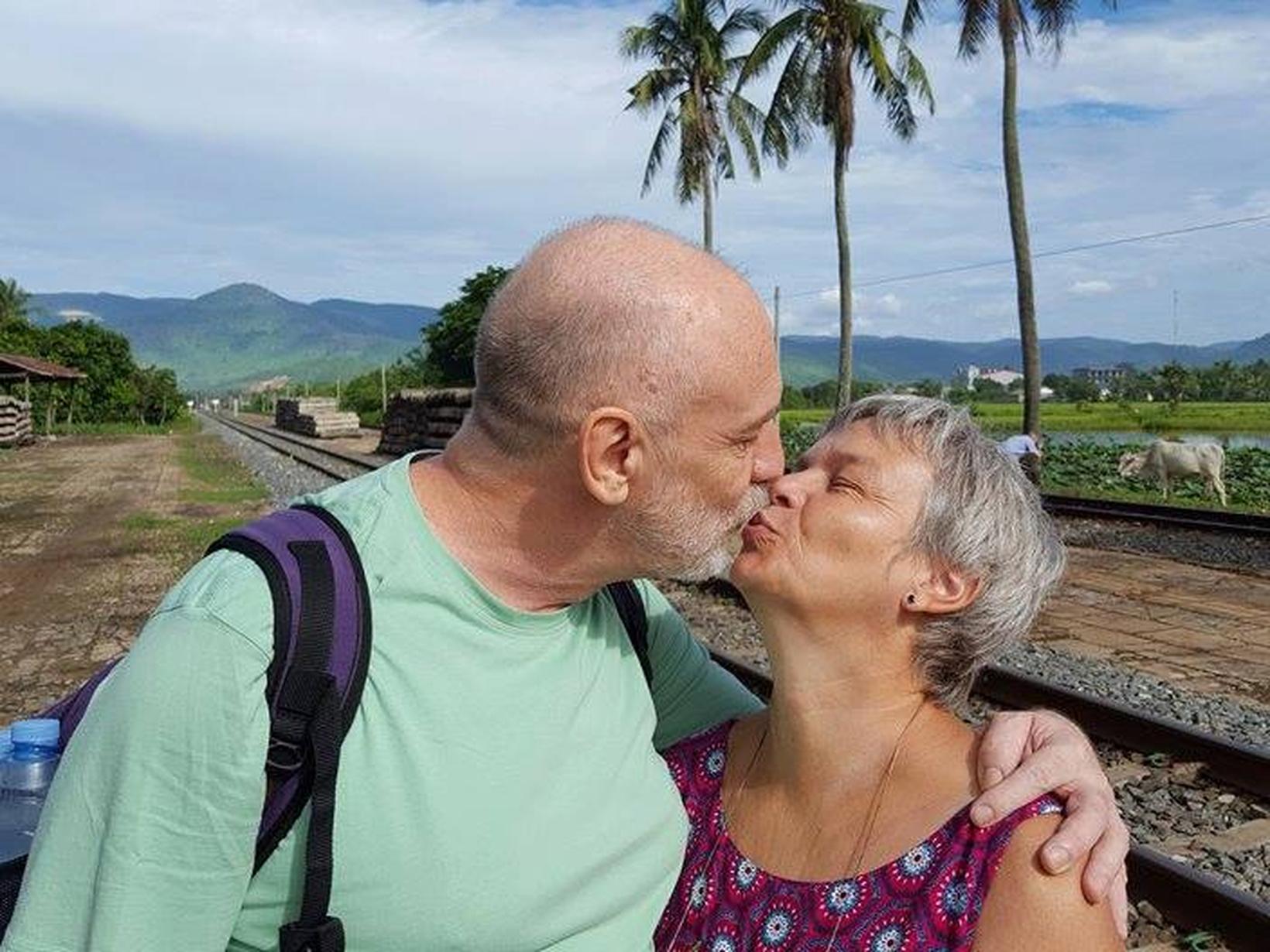 Bernadette & Jean-paul from Phnom Penh, Cambodia