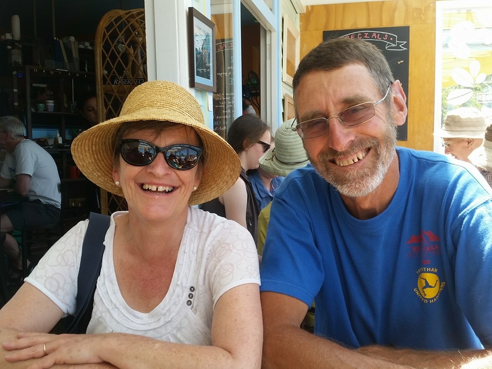 Jill & John from Napier, New Zealand