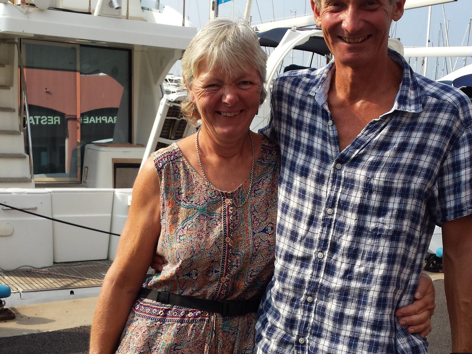 Gill & Peter from Battle, United Kingdom