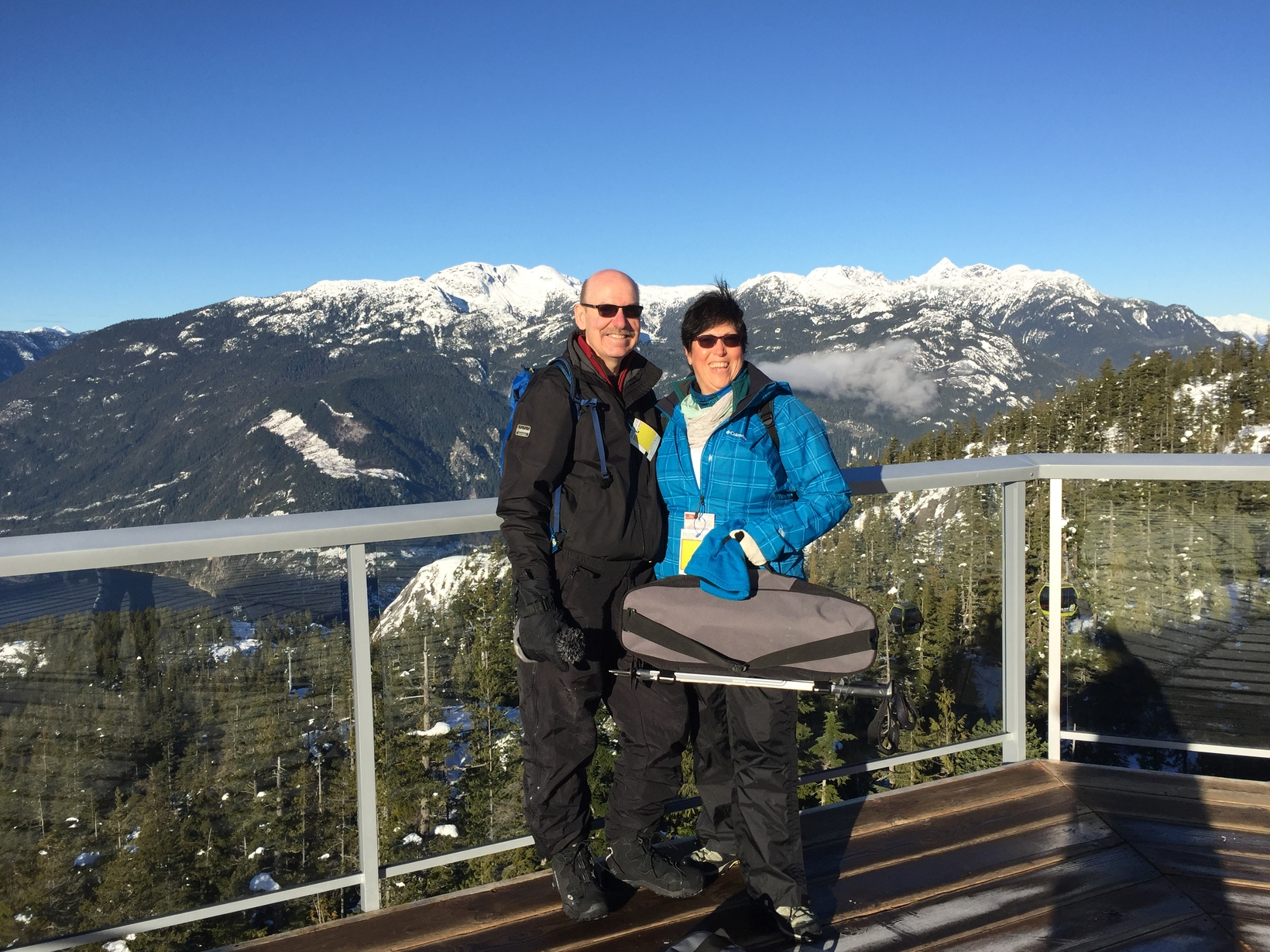 Normand & Beth from Mission, British Columbia, Canada