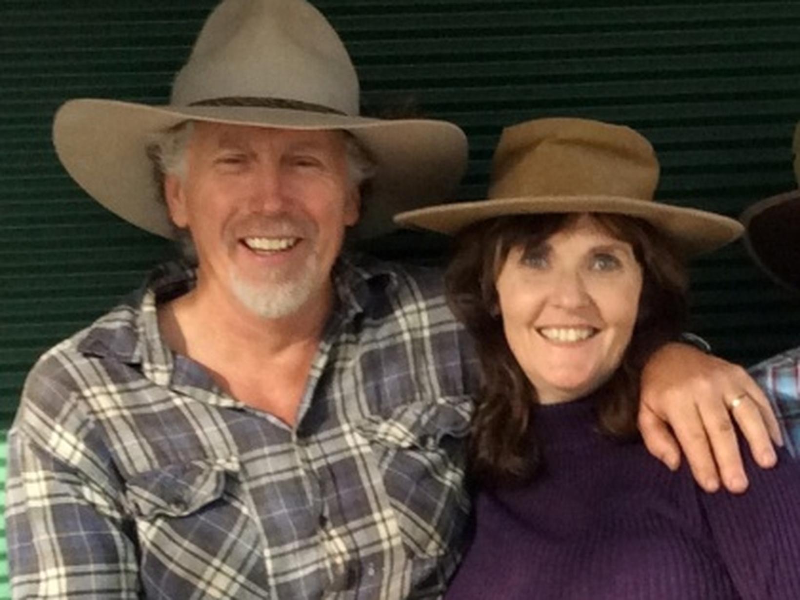 Leonie & Don from Harvey, Western Australia, Australia