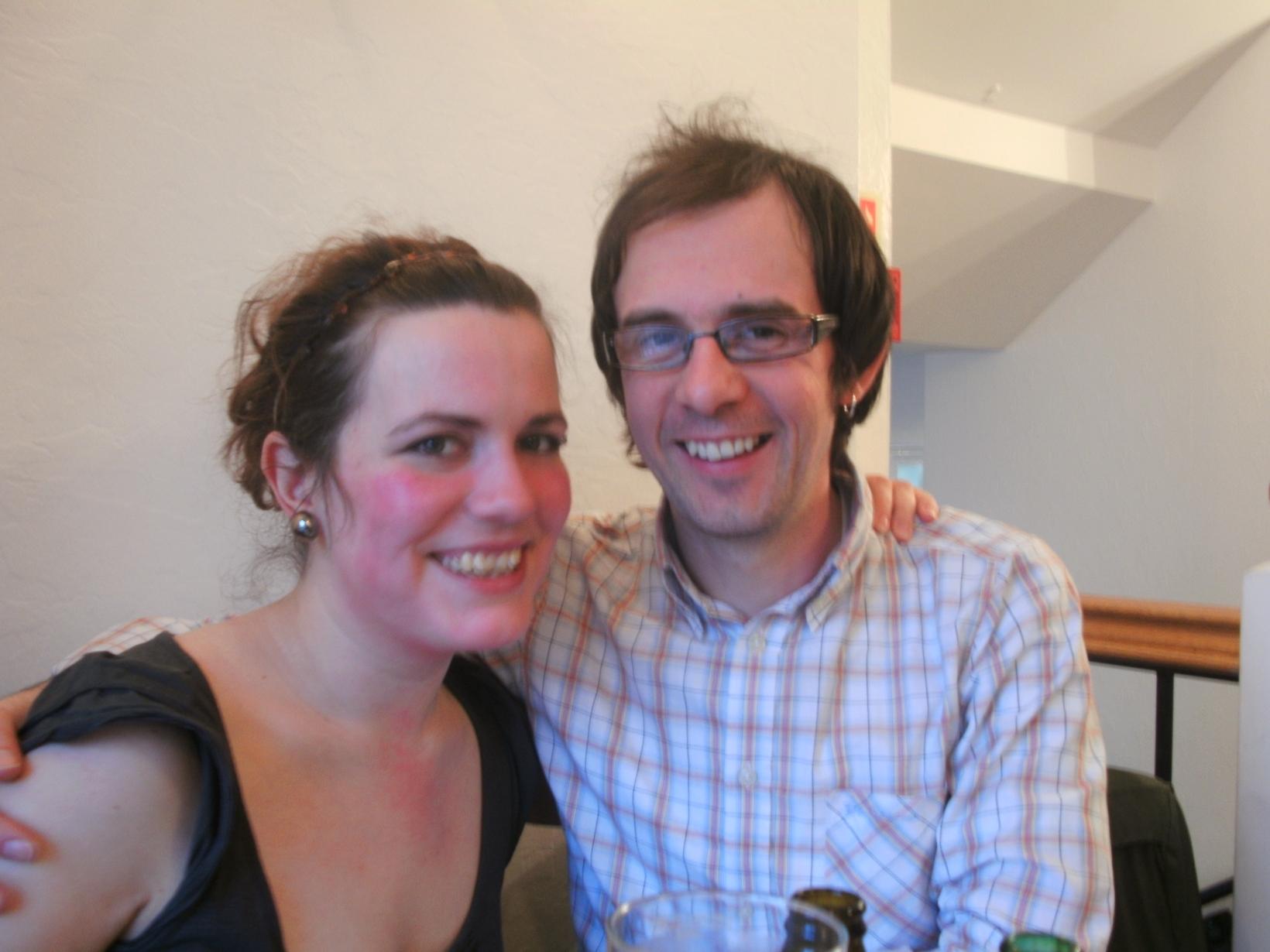 Annika & Steve from Newbury, United Kingdom