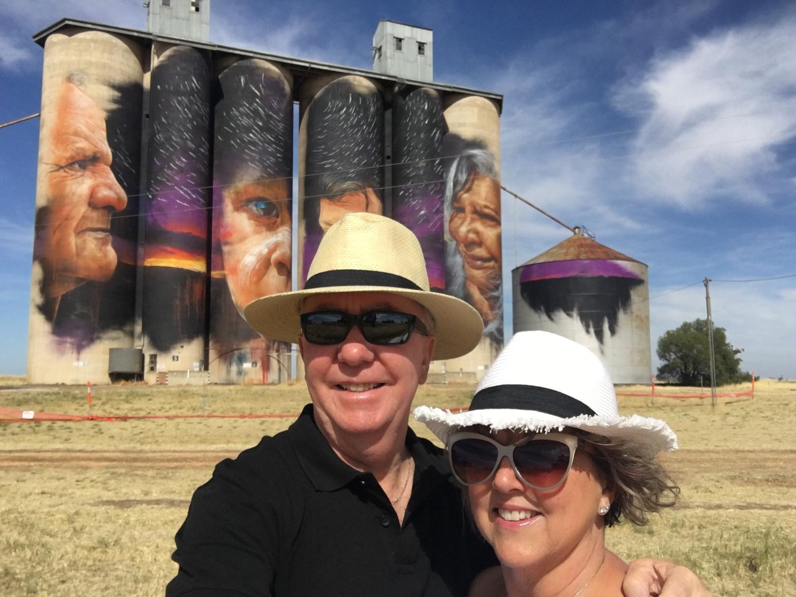 Rosemary & Neil from Melbourne, Victoria, Australia