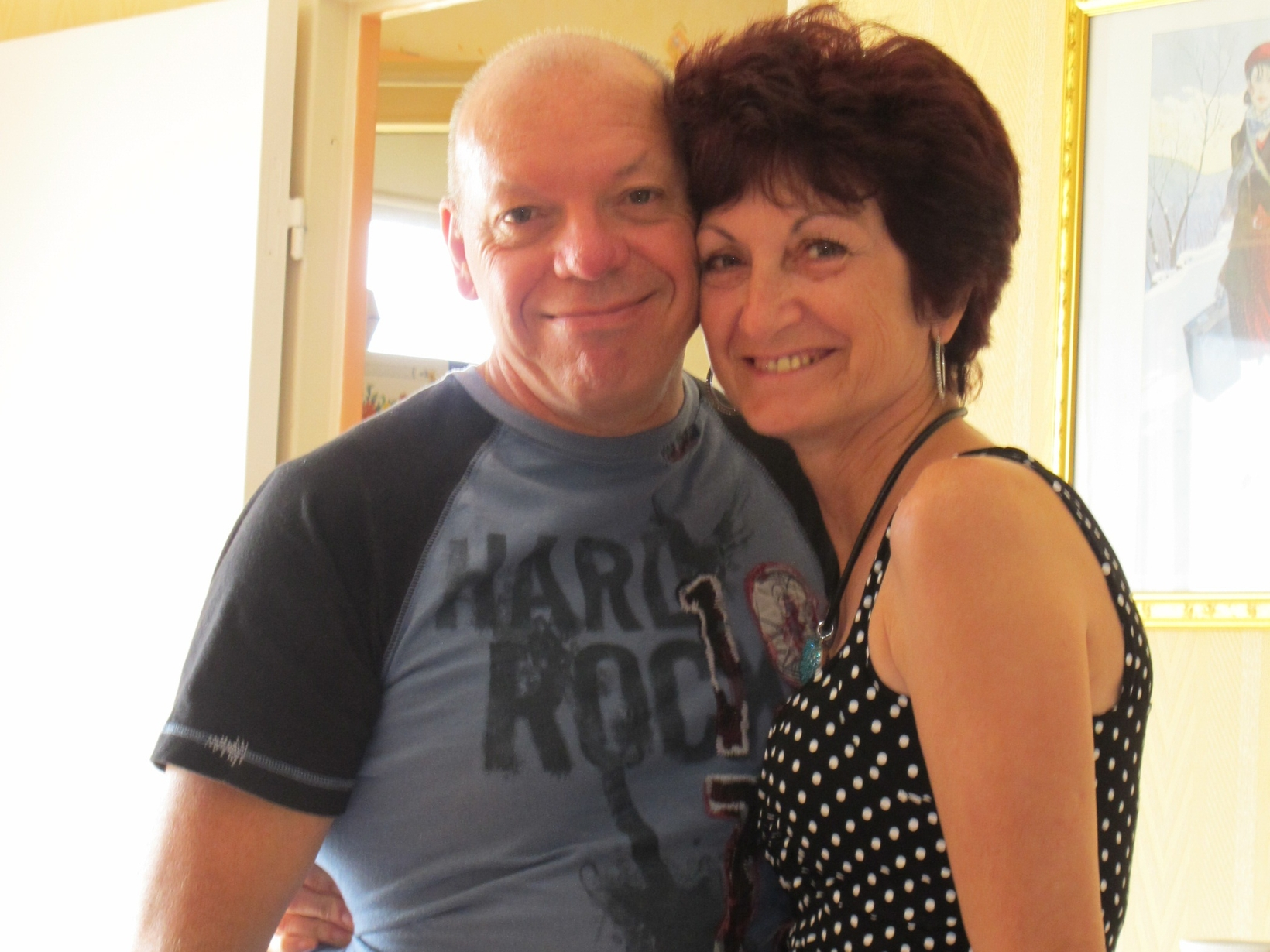 Joelle & Claude from Le Grand-Quevilly, France