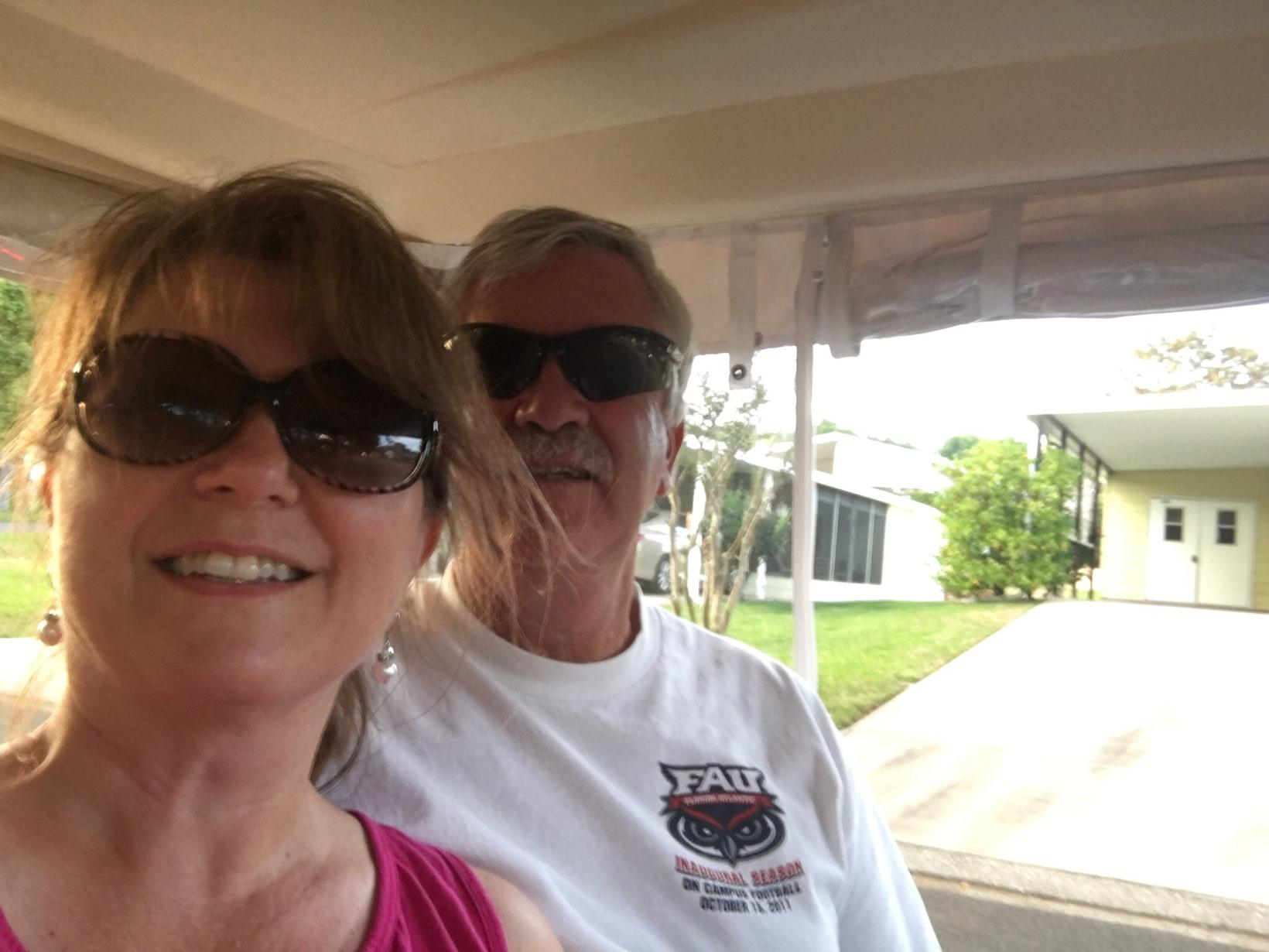 Lisa & Ronnie from Hendersonville, North Carolina, United States