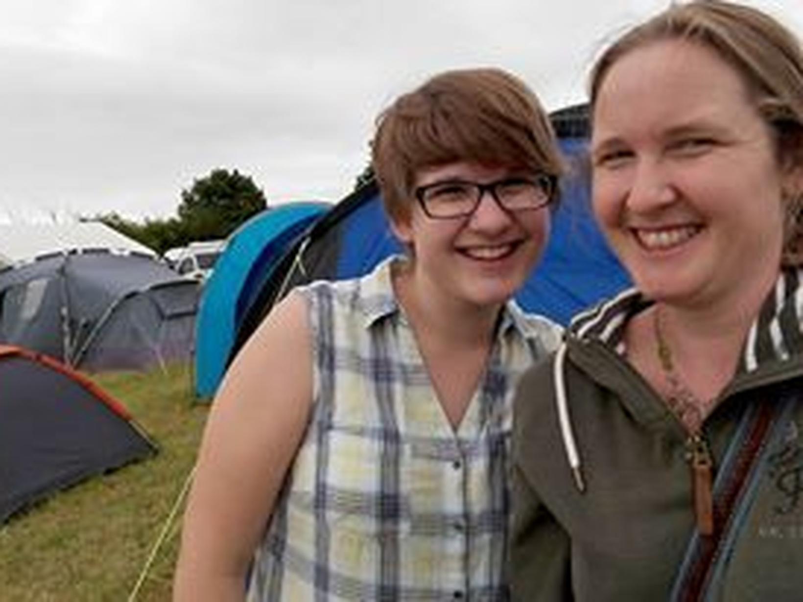 Fiona & Aggie from Northampton, United Kingdom