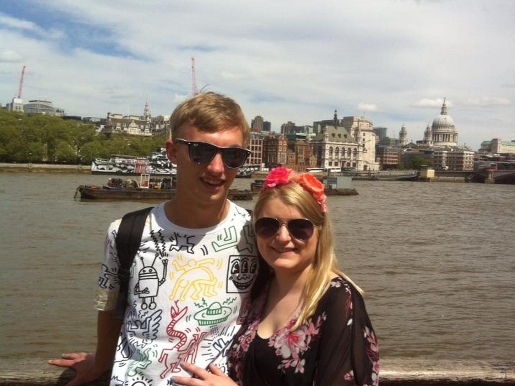 Emma & Andrew from Brighton, United Kingdom
