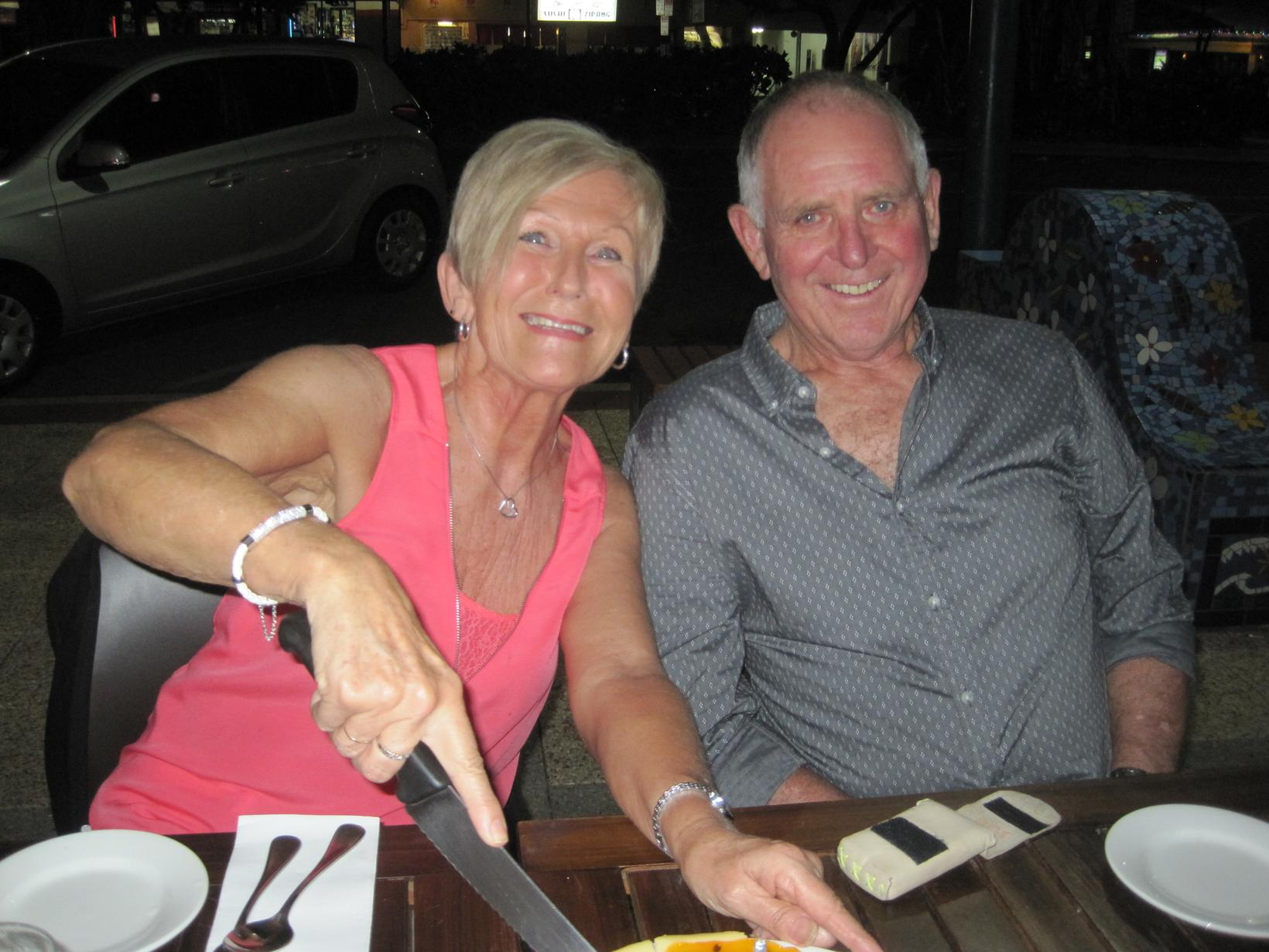 Valerie & John from Cairns, Queensland, Australia