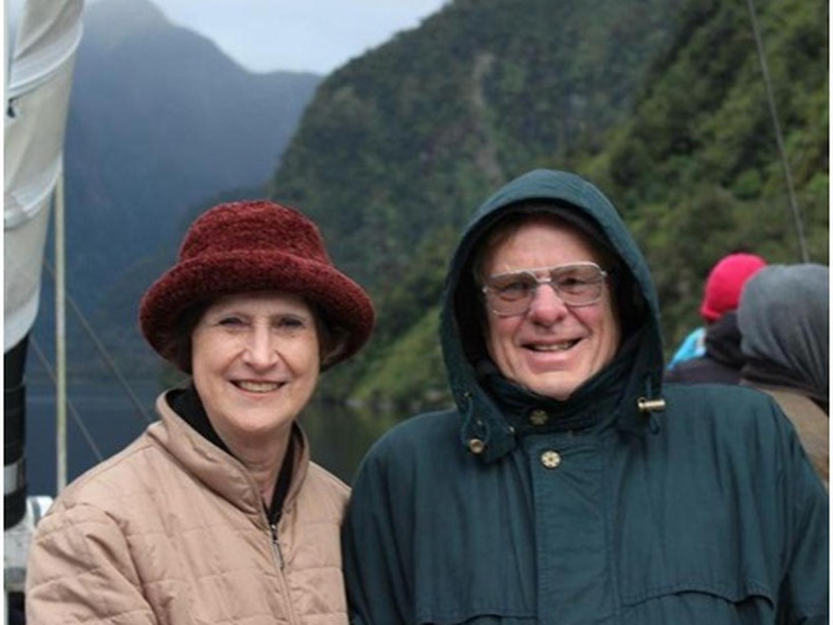 Lesley & Richard from Adelaide, South Australia, Australia