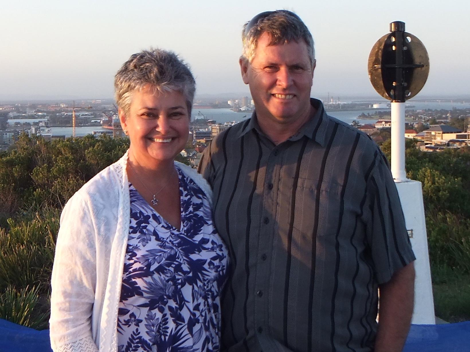 Tracey & Brian from Brisbane, Queensland, Australia
