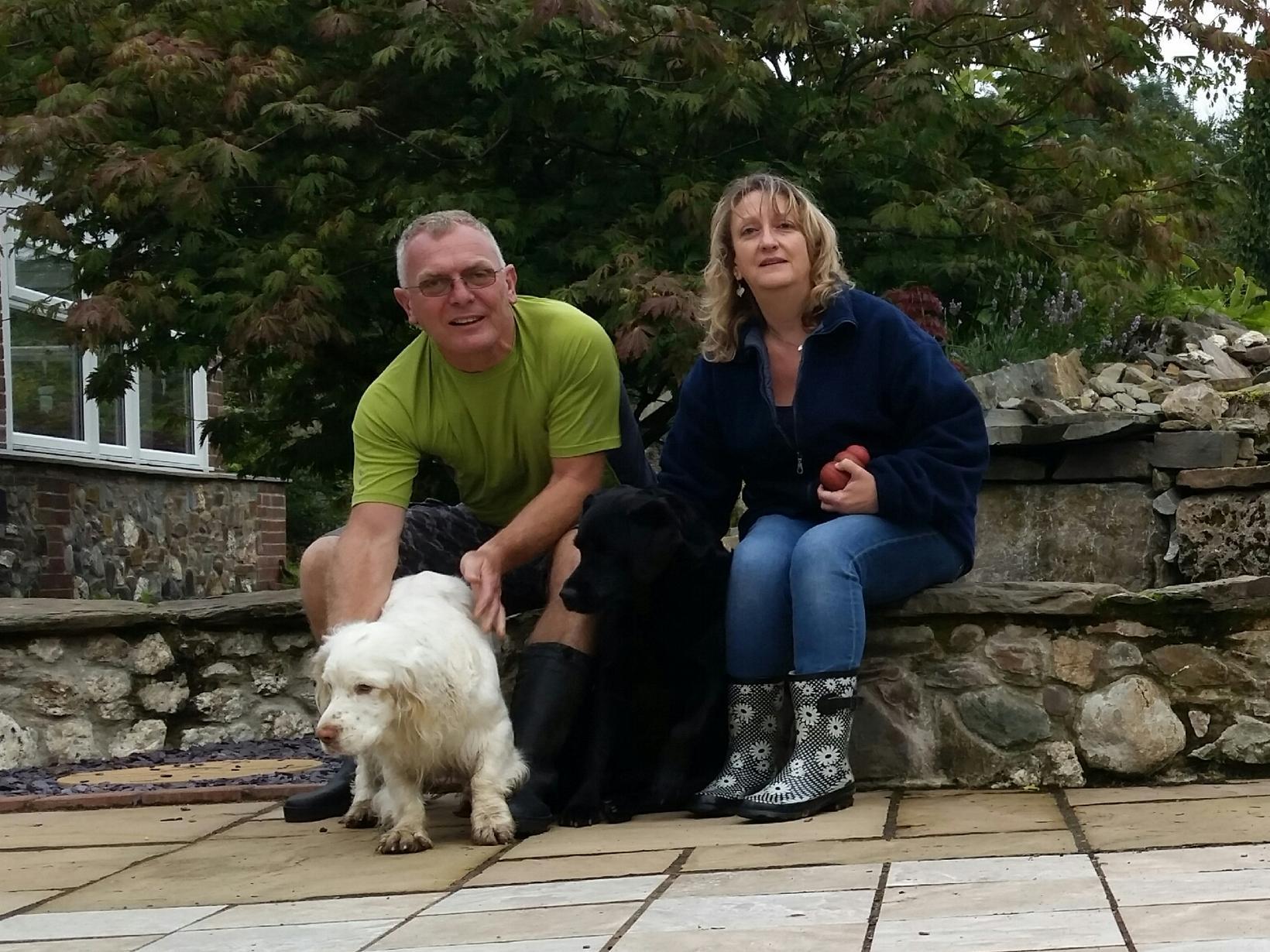 Debbie & Vince from Laindon, United Kingdom
