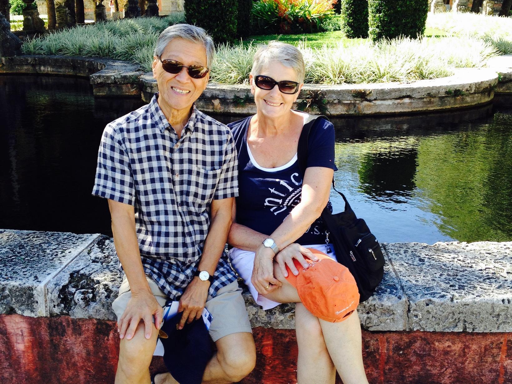 Sue & Andrew from Perth, Western Australia, Australia