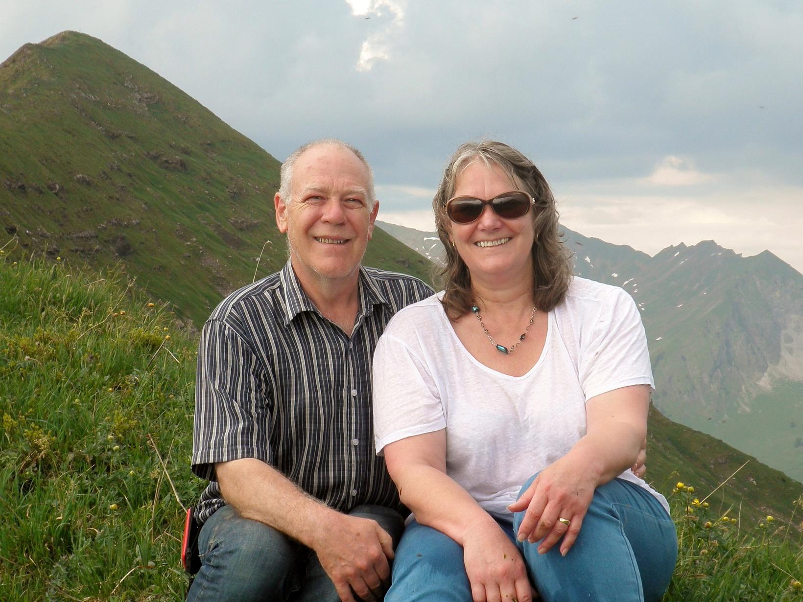 John & Pam from Letcombe Regis, United Kingdom
