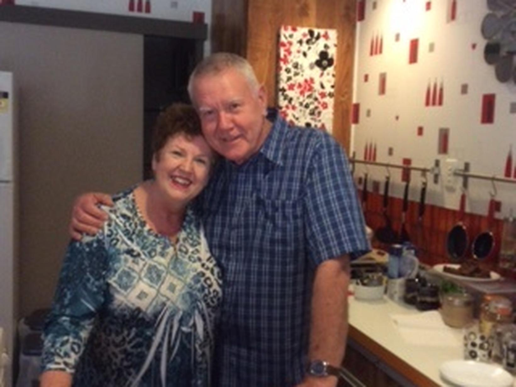 Margaret & Edwyn from Brisbane, Queensland, Australia