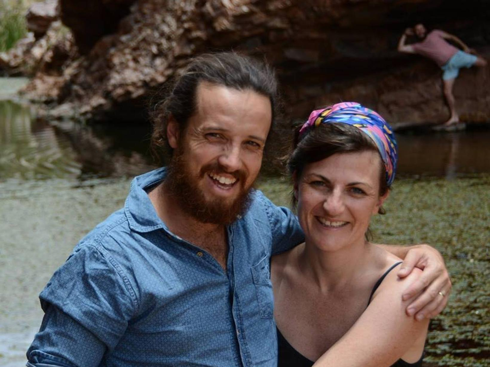 Nathan & Hayley from Alice Springs, Northern Territory, Australia