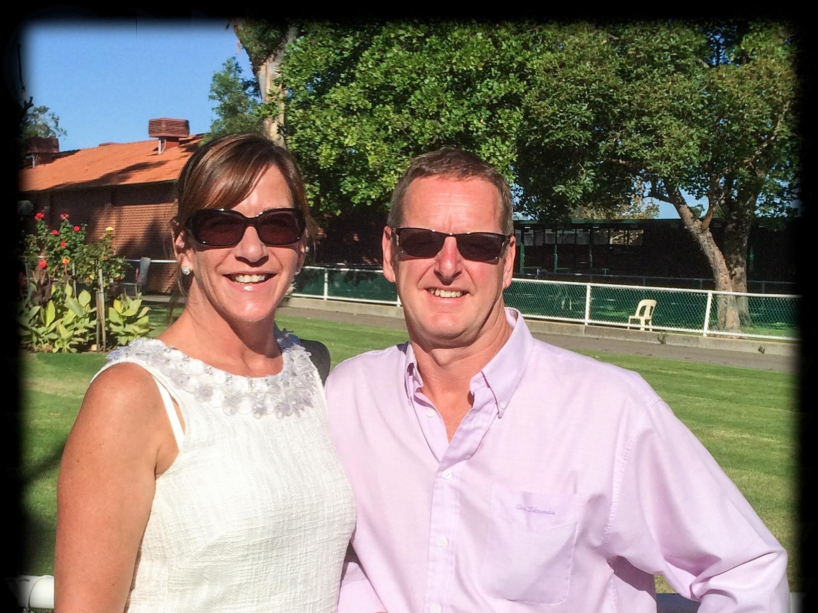 Raelene & Kevin from Perth, Western Australia, Australia