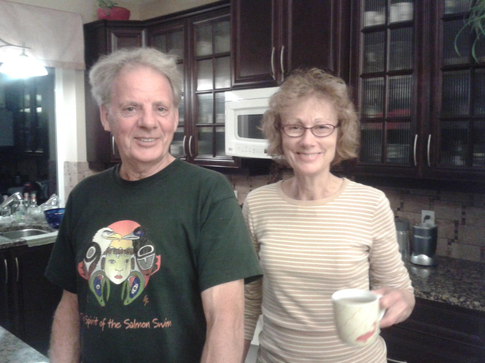 Margaret & Helge from Duncan, British Columbia, Canada