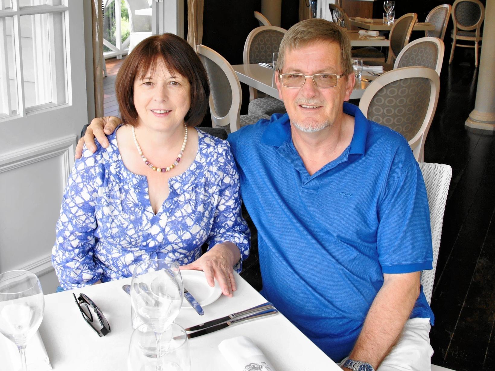 Andrew & Dorothy from Alderley Edge, United Kingdom