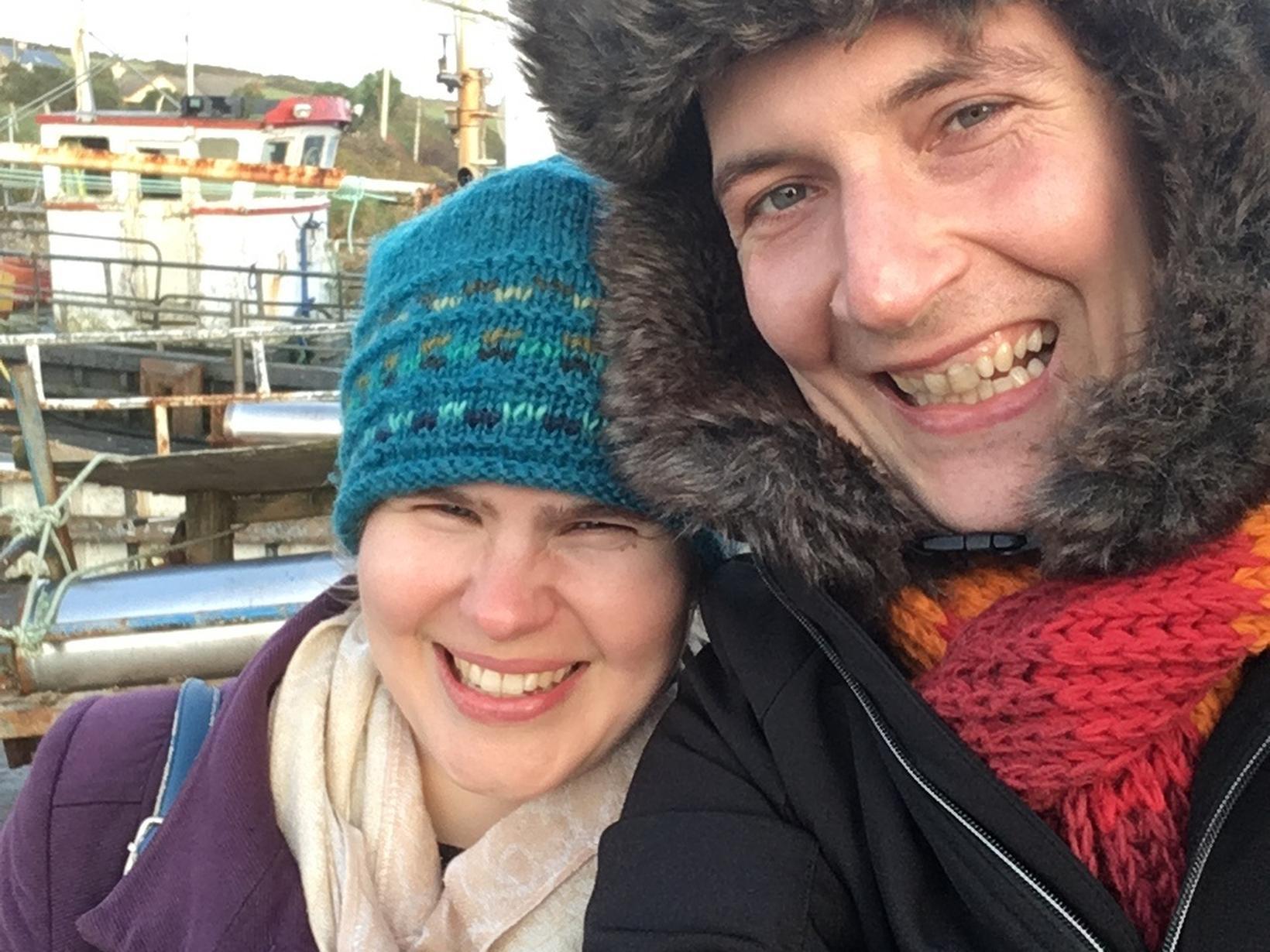 Anna & Gareth from Dublin, Ireland