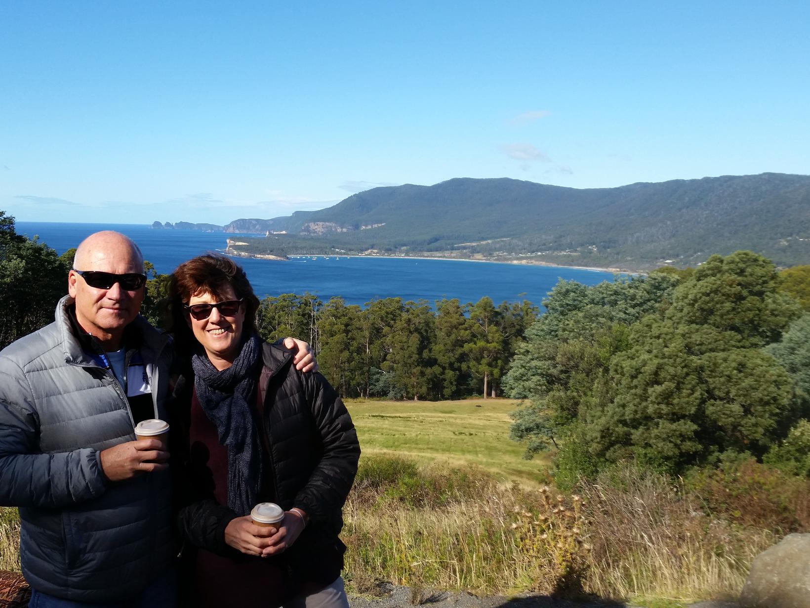 Julie & Ian from Perth, Western Australia, Australia