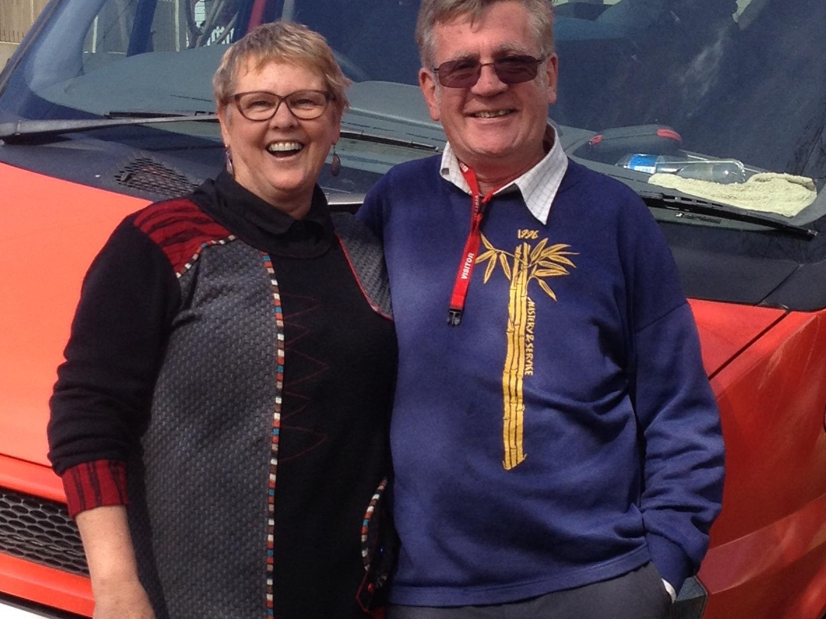 Lesley & Christopher from Sydney, New South Wales, Australia