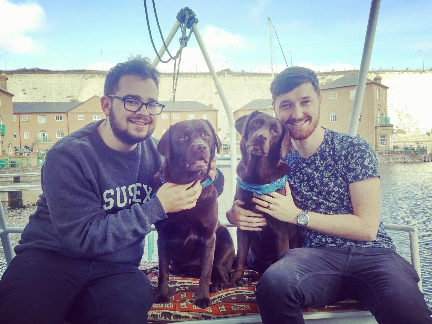 Jack & Adem from Brighton, United Kingdom