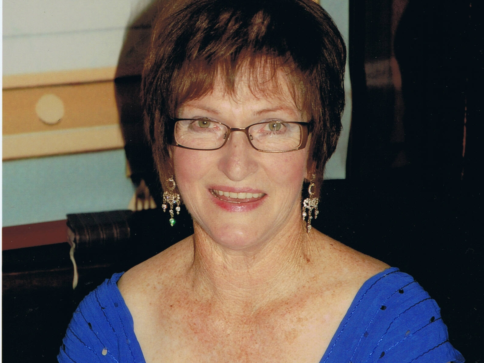 Diane from Timaru, New Zealand