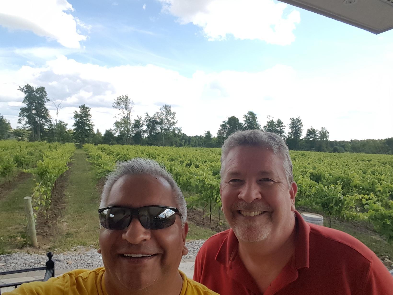 Graeme & John from Toronto, Ontario, Canada
