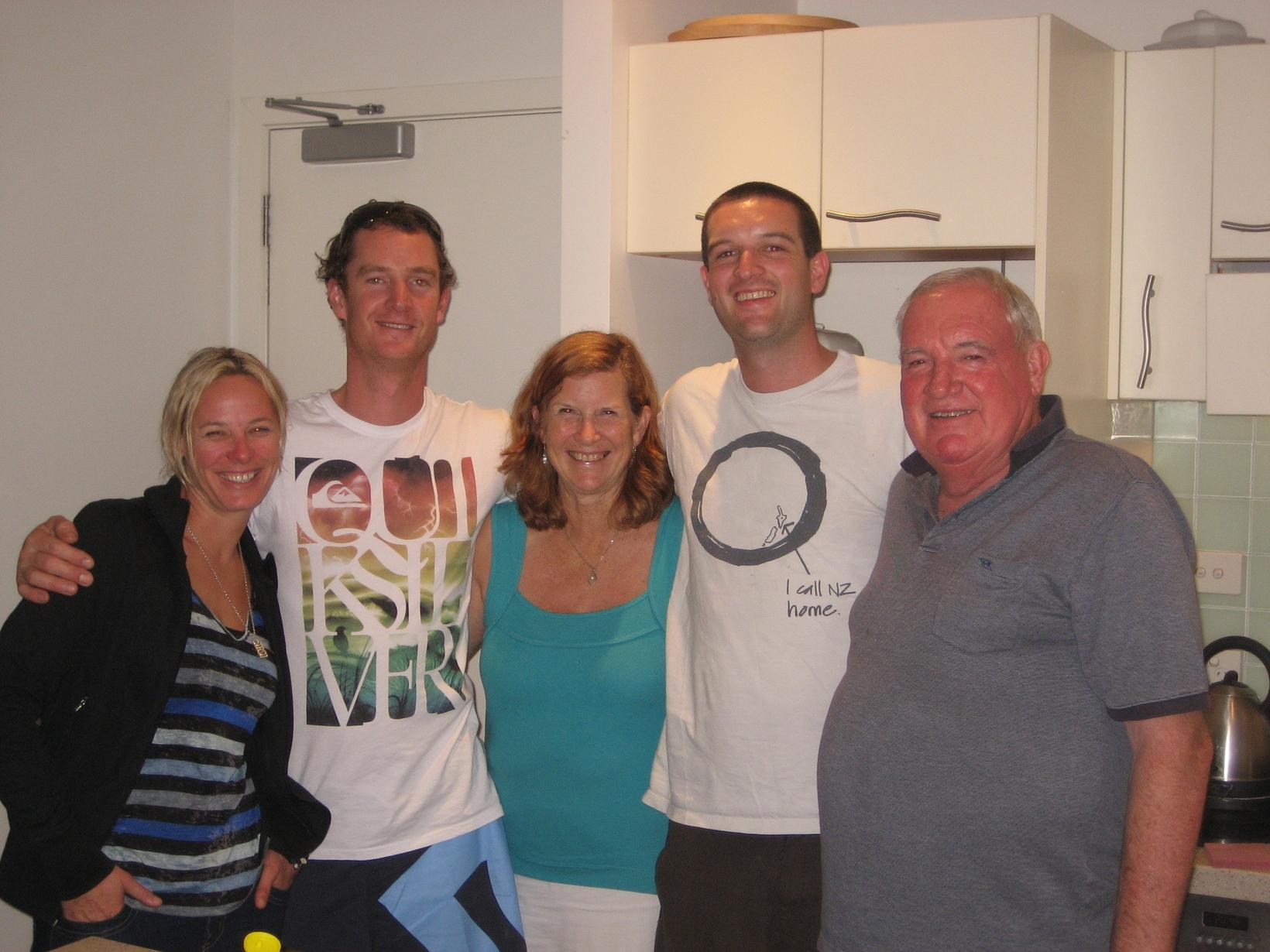 Lyndsay & Maurice from Orewa, New Zealand
