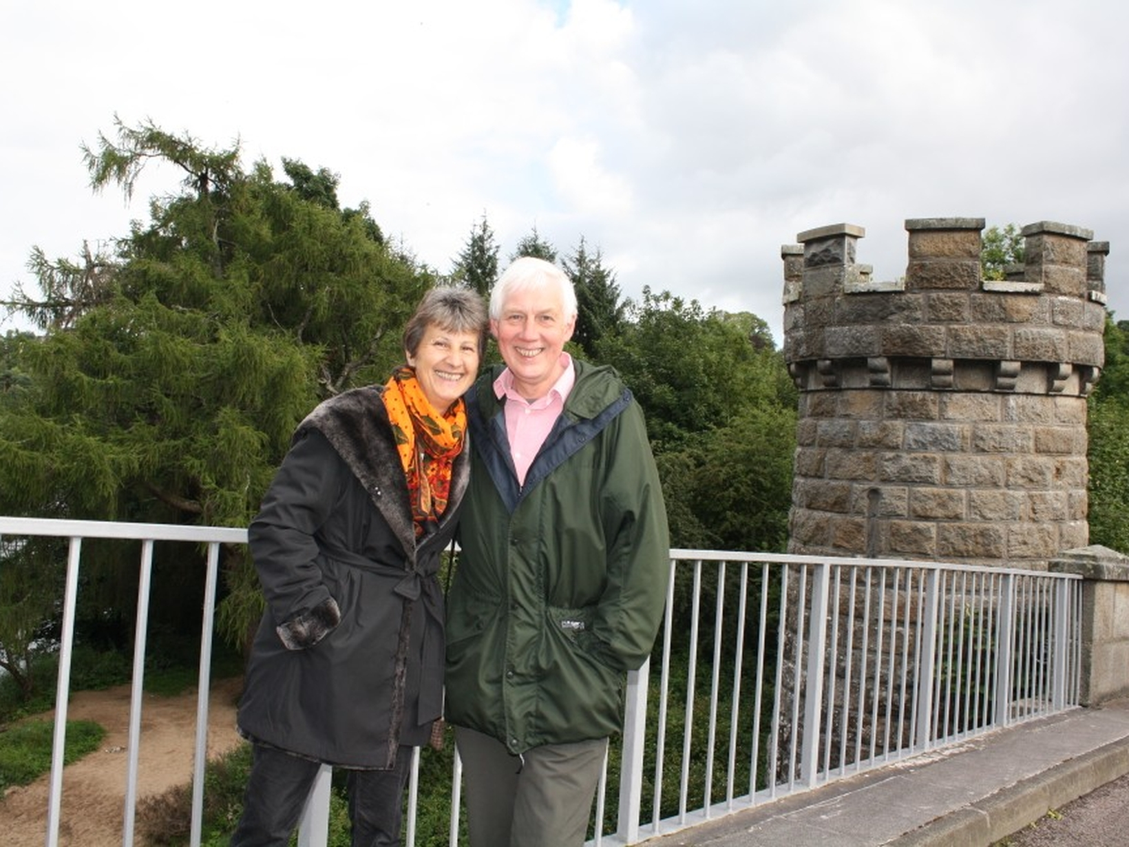 Donald & Jeannine from Keith, United Kingdom