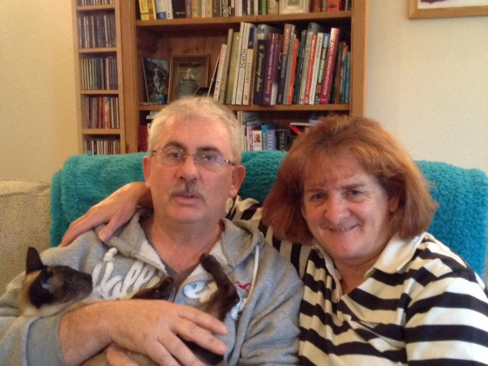 Jackie & Nicholas from Weston-super-Mare, United Kingdom