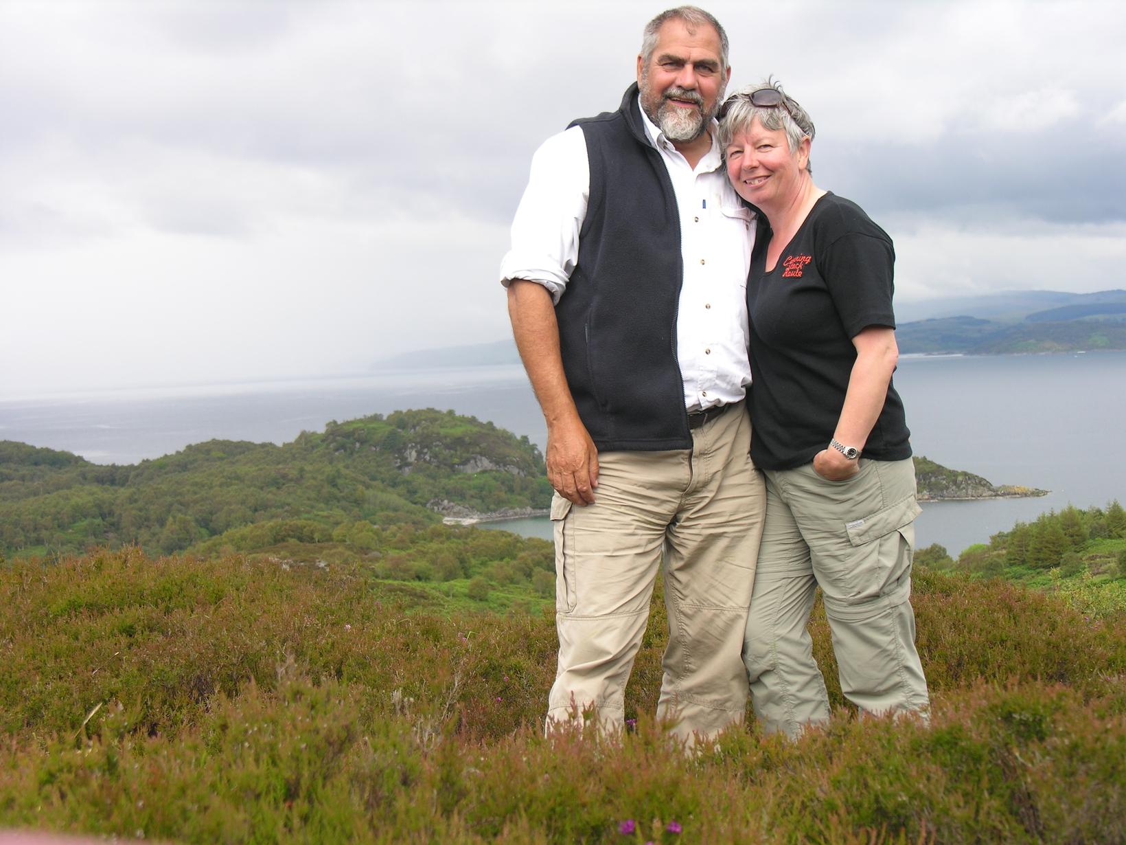 Ian & Jayne from Dunfermline, United Kingdom
