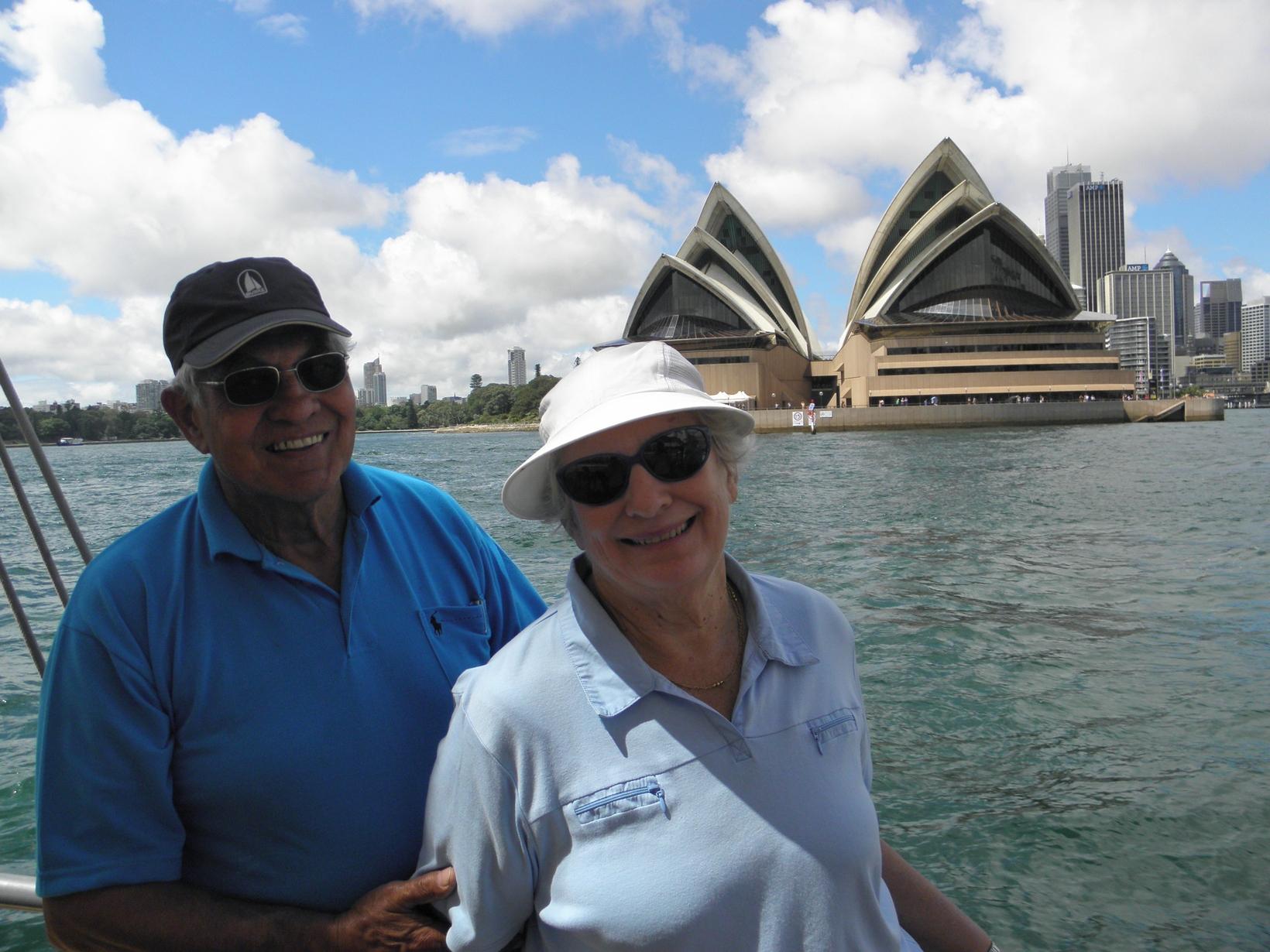 Helen & Ron from Toowoomba, Queensland, Australia