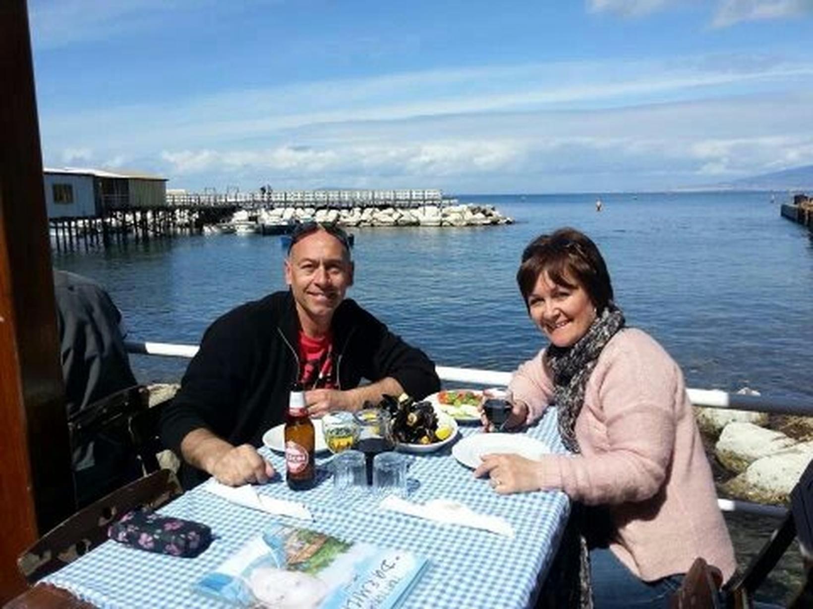 Lesley & Paul from Mellis, United Kingdom